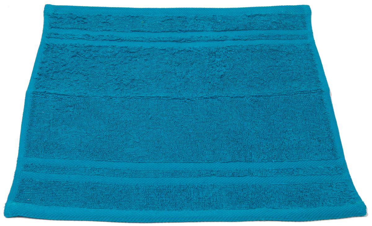 Полотенце махровое Arloni Marvel, цвет: бирюзовый, 33х33 см. 4403444034