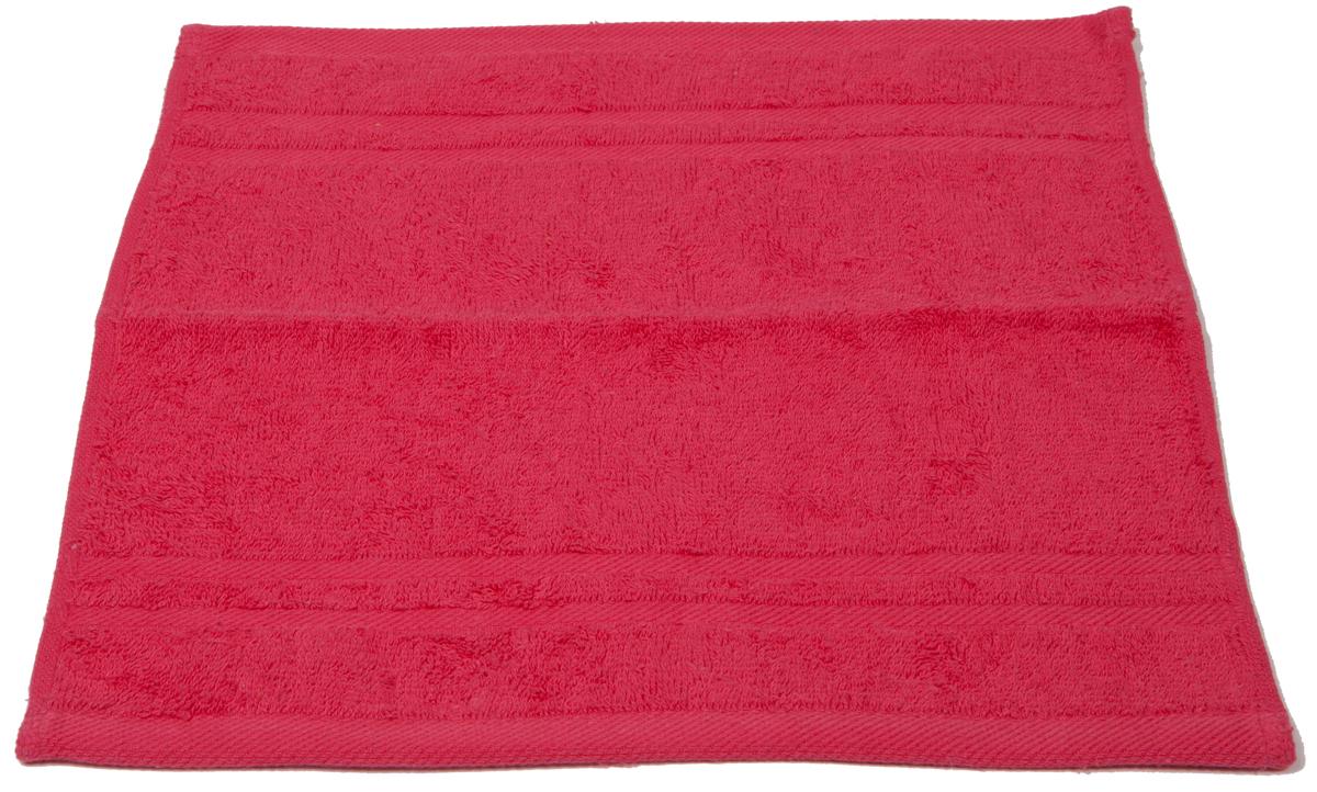 Полотенце махровое Arloni Marvel, цвет: коралловый, 33х33 см. 4403544035