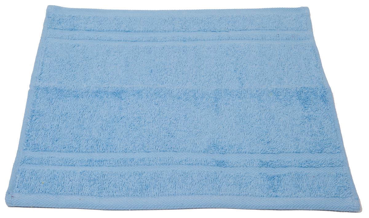Полотенце махровое Arloni Marvel, цвет: голубой, 33х33 см. 4404044040