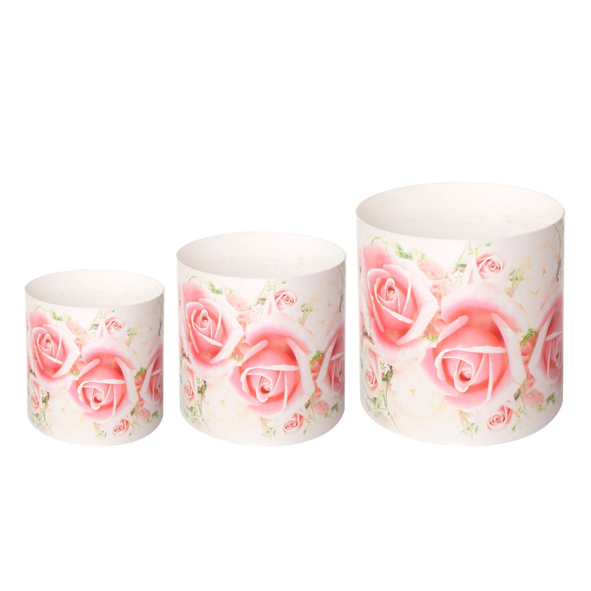 Набор горшков для цветов Miolla Miolla Розы со скрытым поддоном, 2 предметаSMG-SET10Набор горшочков Miolla c 3D рисунком. Хорошо будут смотреться как основа для топиариев и флористических композиций. А так же замечательно для комнатных цветов.