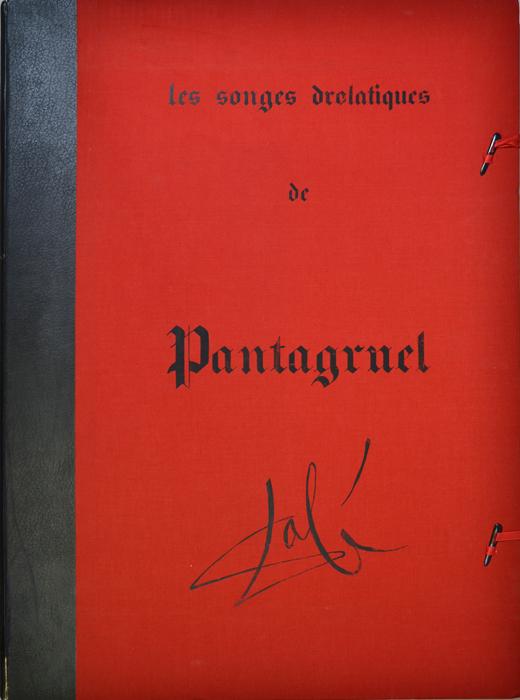 Озорные сны Пантагрюэля (Les Songes drolatiques de Pantagruel). Сальвадор Дали. Сюита из 25 литографий. Швейцария-Франция, Celami, 1973 годНВА-2 2508 16-39Озорные сны Пантагрюэля (Les Songes drolatiques de Pantagruel). Сюита из 25 литографий. Издательство Celami (Женева), отпечатано во Франции в 1973 году. Автор - Сальвадор Дали (1904-1989), испанский художник, один из самых известных представителей сюрреализма. Размер листа 75 х 53 см. Бумага Japon. Тираж 455 экз. Литографии хранятся в оригинальном футляре, выполненном в виде книги. Размер футляра 60,5 х 80,5 х 4 см. Издание отмечено в каталоге Dali: The Catalogue Raisonne of Etchings and Mixed-Media Prints, (1924-1980) (Salvador Dali, Lutz W. Loepsinger, Ralf Michler; Издательство Prestel, 1993) под №№ 1398-1422.