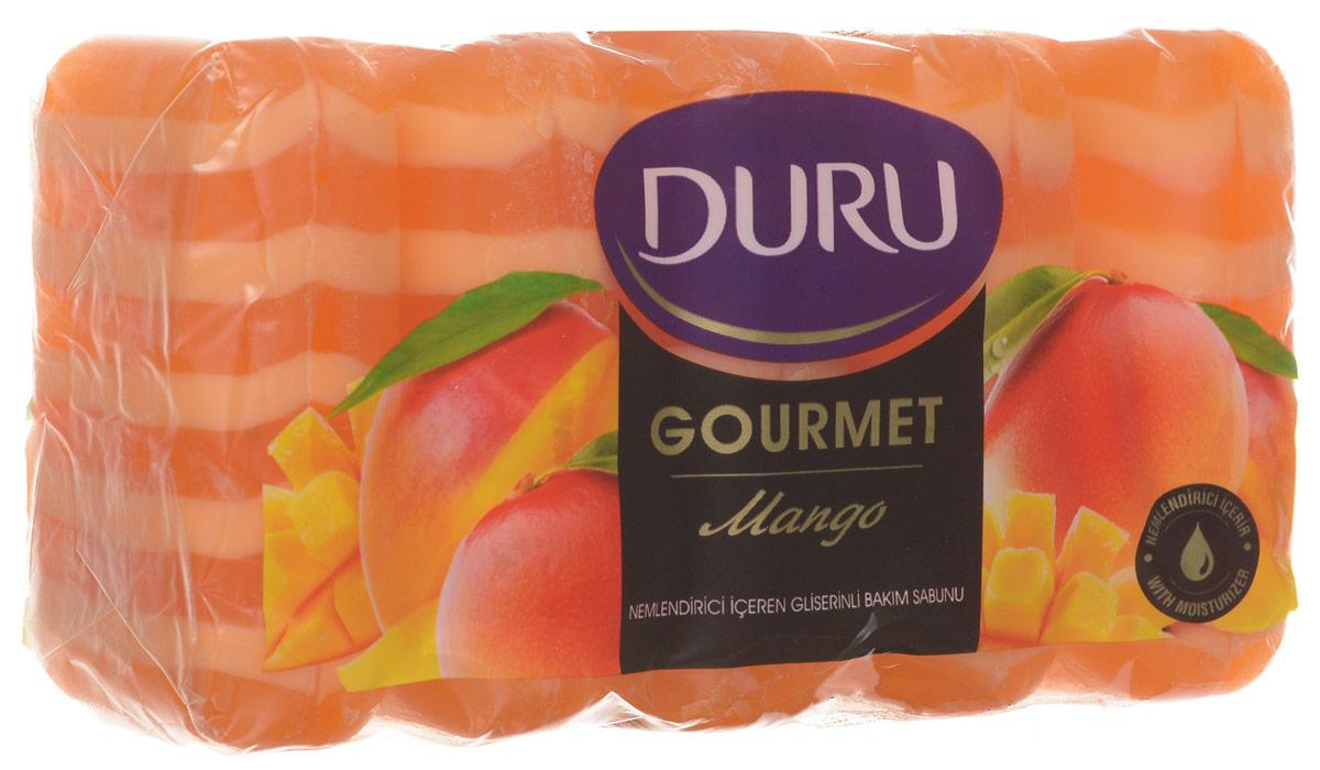 DURU GOURMET Мыло Манговое мороженное 5*75г800031542_манго