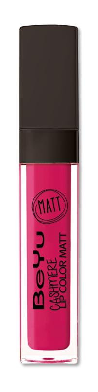 BeYu Помада для губ матовая стойкая Cashmere Lip Color Matt 48 6,5 мл3342.48Стойкая жидкая помада с матовым эффектом и нежной текстурой. Идеально держится на губах весь день, не растекается и не скатывается. Модное матовое покрытие ставит яркий акцент на улыбке, насыщенные оттенки помады усиливает эффект. Макияж губ выглядит выразительно и чувственно. Помада легко наносится благодаряю удобному закругленному аппликатору.