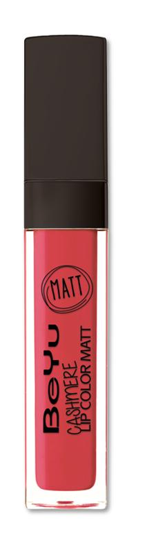 BeYu Помада для губ матовая стойкая Cashmere Lip Color Matt 85 6,5 мл3342.85Стойкая жидкая помада с матовым эффектом и нежной текстурой. Идеально держится на губах весь день, не растекается и не скатывается. Модное матовое покрытие ставит яркий акцент на улыбке, насыщенные оттенки помады усиливает эффект. Макияж губ выглядит выразительно и чувственно. Помада легко наносится благодаряю удобному закругленному аппликатору.