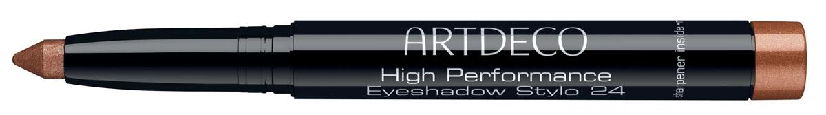 Artdeco Тени-карандаш High Performance Eyeshadow Stylo 24 1,4 г267.24Легкость нанесения. Быстрый макияж. Высокое качество – нежная блестящая текстура. Модные оттенки. Высокая стойкость. Встроенная точилка