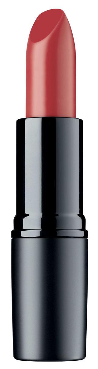 Artdeco Помада для губ матовая стойкая Perfect Mat Lipstick 116 4 г134.116Устойчивая помада с матовой текстурой - модный эффект и безупречный макияж губ весь день! Благодаря воскам в составе, помада идеально наносится, равномерно распределяется и не растекается за контуры губ. Интенсивный цвет и бархатная матовая текстура помогают создать яркий и соблазнительный макияж губ.
