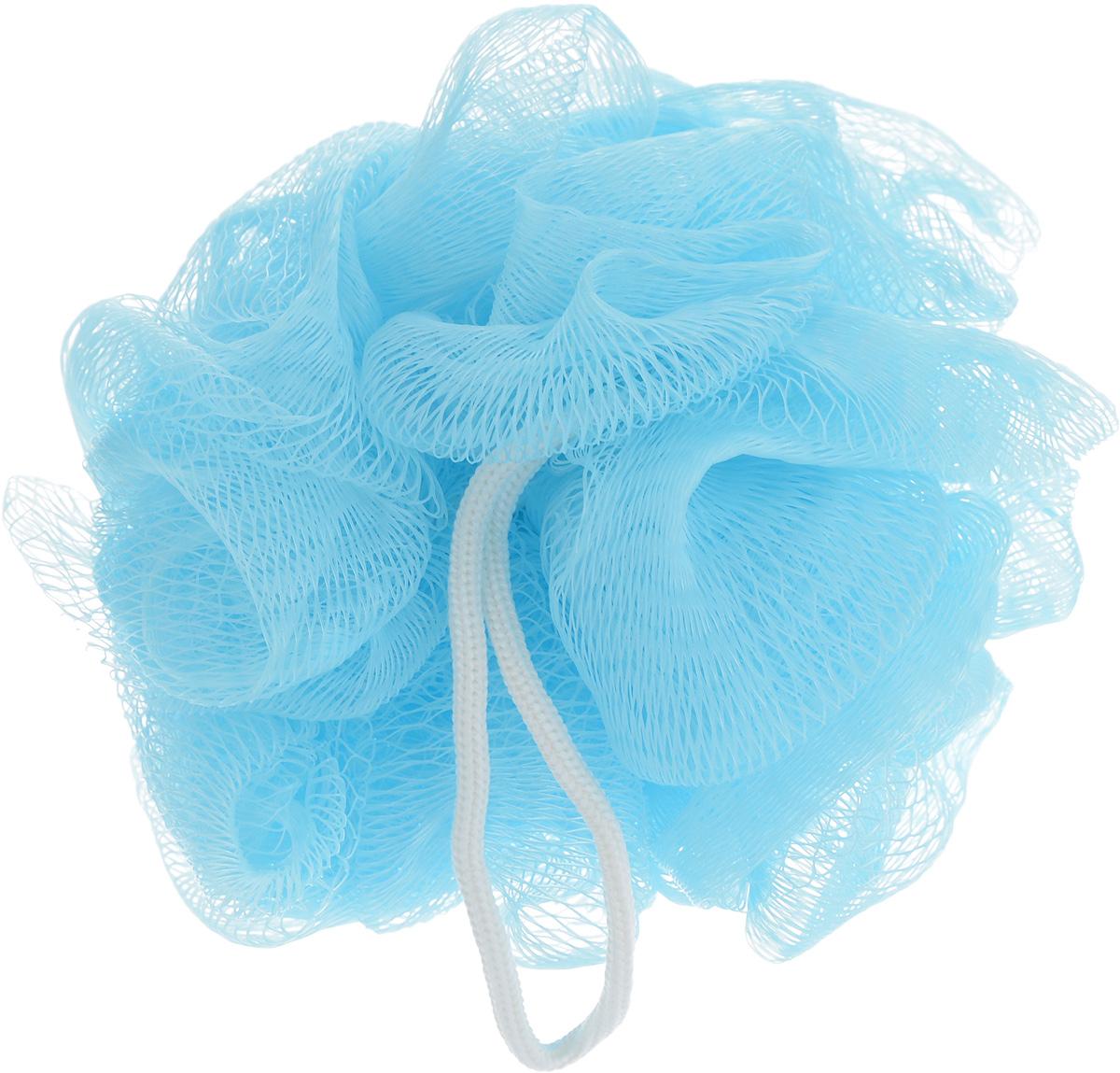 Мочалка The Body Time, цвет: голубой57198_голубойМочалка The Body Time, выполненная из нейлона, предназначена для мягкого очищения кожи. Она станет незаменимым аксессуаром ванной комнаты. Мочалка отлично пенится, обладает легким массажным воздействием, идеально подходит для нежной и чувствительной кожи. На мочалке имеется удобная петля для подвешивания. Диаметр: 10 см.