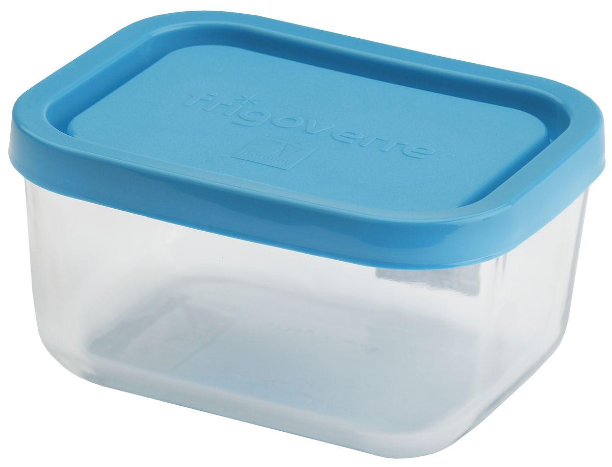 Контейнер Bormioli Rocco Frigoverre, прямоугольный, цвет крышки: синий, 1100 млB335160-1Bormioli Rocco Стеклянный герметичный контейнер для хранения пищи Frigoverre с синей крышкой прямоугольный 21х13 см, 1100 мл. Из холодильника сразу в микроволновую печь! Выдерживают температурный удар от – 20С до +70С. Безопасны для хранения готовых продуктов. Не содержат Бисфенол А. BPA Free. Закаленное стекло. В 5 раз повышена ударостойкость. Устойчивы к царапинам и сколам. Удобство использования. Изделия легко моются. Можно использовать в посудомоечной машине. Настоящее итальянское качество!