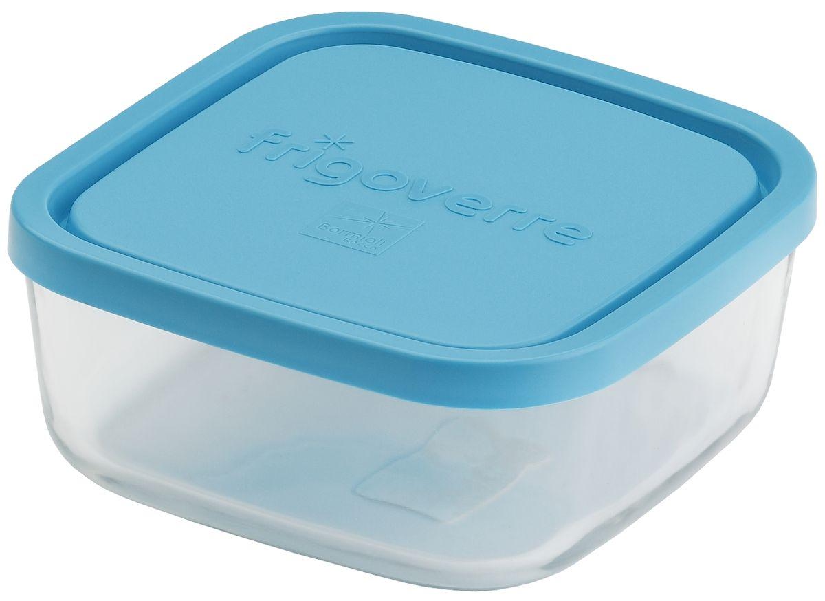Контейнер Bormioli Rocco Frigoverre, квадратный, цвет крышки: синий, 1600 млB388820-1Bormioli Rocco Стеклянный герметичный контейнер для хранения пищи Frigoverre с синей крышкой квадратный 19х19 см, 1600 мл. Из холодильника сразу в микроволновую печь! Выдерживают температурный удар от – 20С до +70С. Безопасны для хранения готовых продуктов. Не содержат Бисфенол А. BPA Free. Закаленное стекло. В 5 раз повышена ударостойкость. Устойчивы к царапинам и сколам. Удобство использования. Изделия легко моются. Можно использовать в посудомоечной машине. Настоящее итальянское качество!