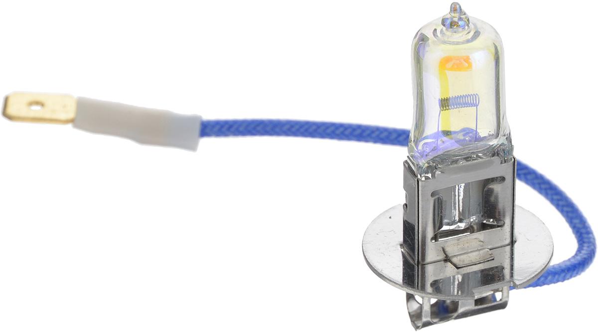 Лампа автомобильная галогенная Nord YADA Rainbow, всепогодная, цоколь H3, 12V, 55W902490Лампа автомобильная галогенная Nord YADA Rainbow - это электрическая галогенная лампа с вольфрамовой нитью для автомобилей и других моторных транспортных средств. Виброустойчива, надежна, имеет долгий срок службы. Галогенные лампы предназначены для использования в фарах ближнего, дальнего и противотуманного света. Колба с радужным нанесением (мыльный пузырь) обеспечивает водителям комфортное освещение и управление на дороге в любую погоду.