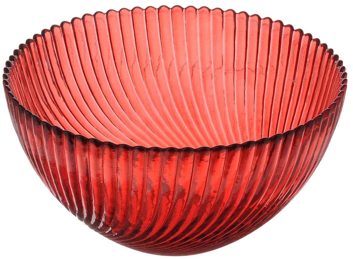 Салатник Ninaglass Альтера, цвет: красный, диаметр 16 смNG83-037RСалатник Ninaglass Альтера выполнен из высококачественного стекла и декорирован рельефным узором. Он подойдет для сервировки стола как для повседневных, так и для торжественных случаев. Такой салатник прекрасно впишется в интерьер вашей кухни и станет достойным дополнением к кухонному инвентарю. Подчеркнет прекрасный вкус хозяйки и станет отличным подарком. Не рекомендуется использовать в микроволновой печи и мыть в посудомоечной машине. Диаметр салатника (по верхнему краю): 16 см. Высота стенки: 8 см.