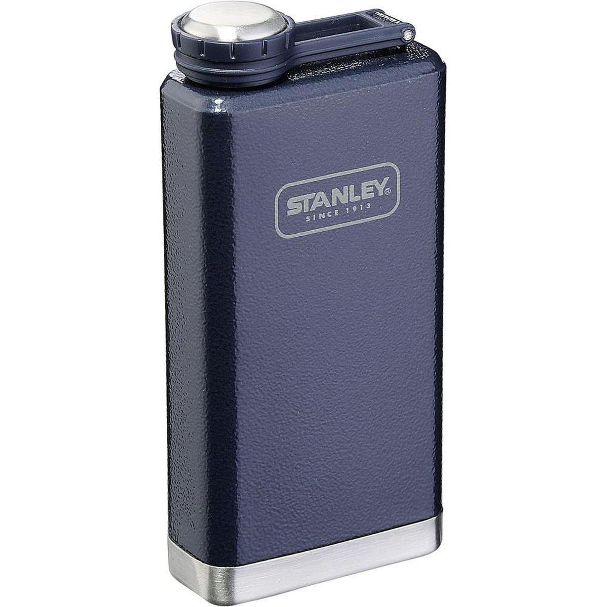 Фляга STANLEY Adventure, цвет: темно-синий, 0,23 л10-01564-018Фляжка карманная. Объем - 0,23 л. Корпус из нержавеющей стали. Наружное покрытие - абразивостойкая эмаль. Цвет - темно-синий. Фляжка герметична. Гарантия - пожизненная.
