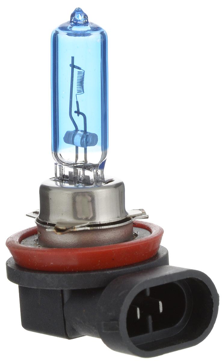 Лампа автомобильная галогенная Nord YADA Super White, цоколь H9, 12V, 65W800049Лампа автомобильная галогенная Nord YADA Super White - это электрическая галогенная лампа с вольфрамовой нитью для автомобилей и других моторных транспортных средств. Виброустойчива, надежна, имеет долгий срок службы. Галогенные лампы предназначены для использования в фарах ближнего, дальнего и противотуманного света. Лампа имеет голубое напыление на колбе, что дает более белый лунный свет. Данная характеристика помогает лучше освещать дорогу для водителей и делает автомобиль более заметным на трассах.