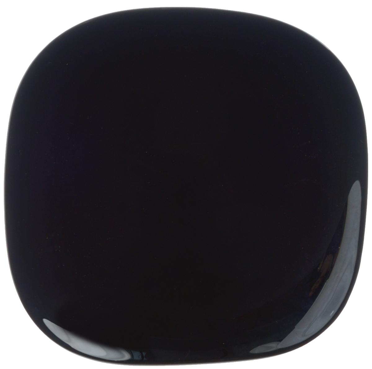 Тарелка десертная Luminarc Yalta Black, 20,5 х 20,5 смH5280Десертная тарелка Luminarc Yalta Black, изготовленная из ударопрочного стекла, имеет изысканный внешний вид. Такая тарелка прекрасно подходит как для торжественных случаев, так и для повседневного использования. Идеальна для подачи десертов, пирожных, тортов и многого другого. Она прекрасно оформит стол и станет отличным дополнением к вашей коллекции кухонной посуды. Размер тарелки: 20,5 х 20,5 х 2,5 см.