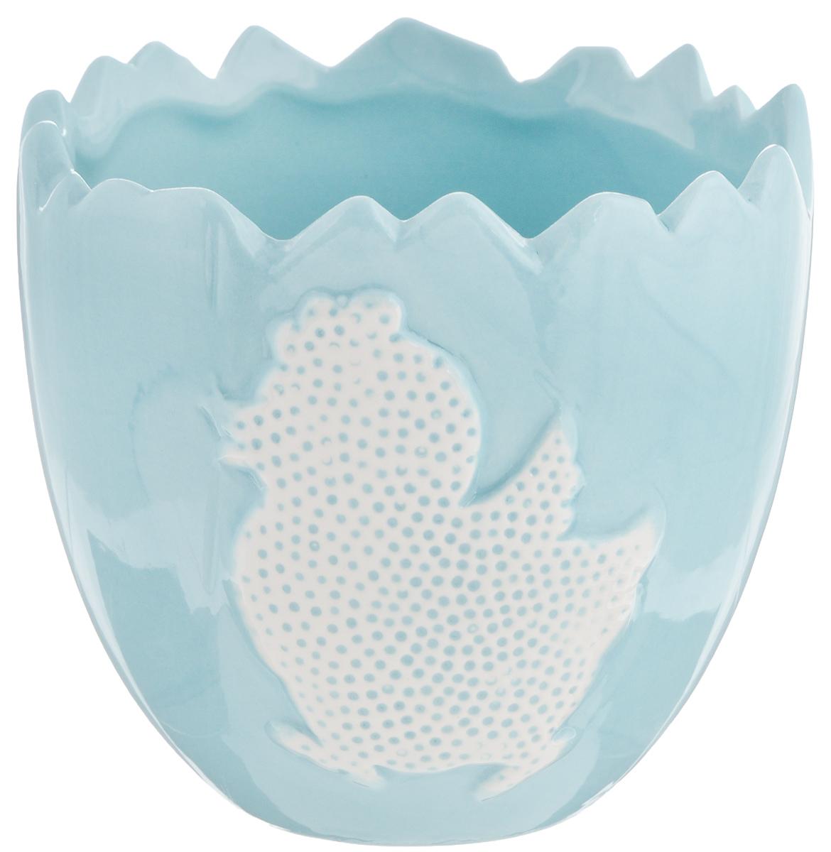 Салатник Patricia Утенок, цвет: голубой, белый, 250 млIM16-0202Оригинальный салатник Patricia Утенок изготовлен из высококачественной керамики. Внешние стенки оформлены изображением утенка. Такое изделие прекрасно подойдет для подачи салатов, закусок или первых блюд. Не рекомендуется мыть в посудомоечной машине и использовать в микроволновой печи. Такой салатник не только украсит ваш праздничный или обеденный стол, но и станет отличным подарком.