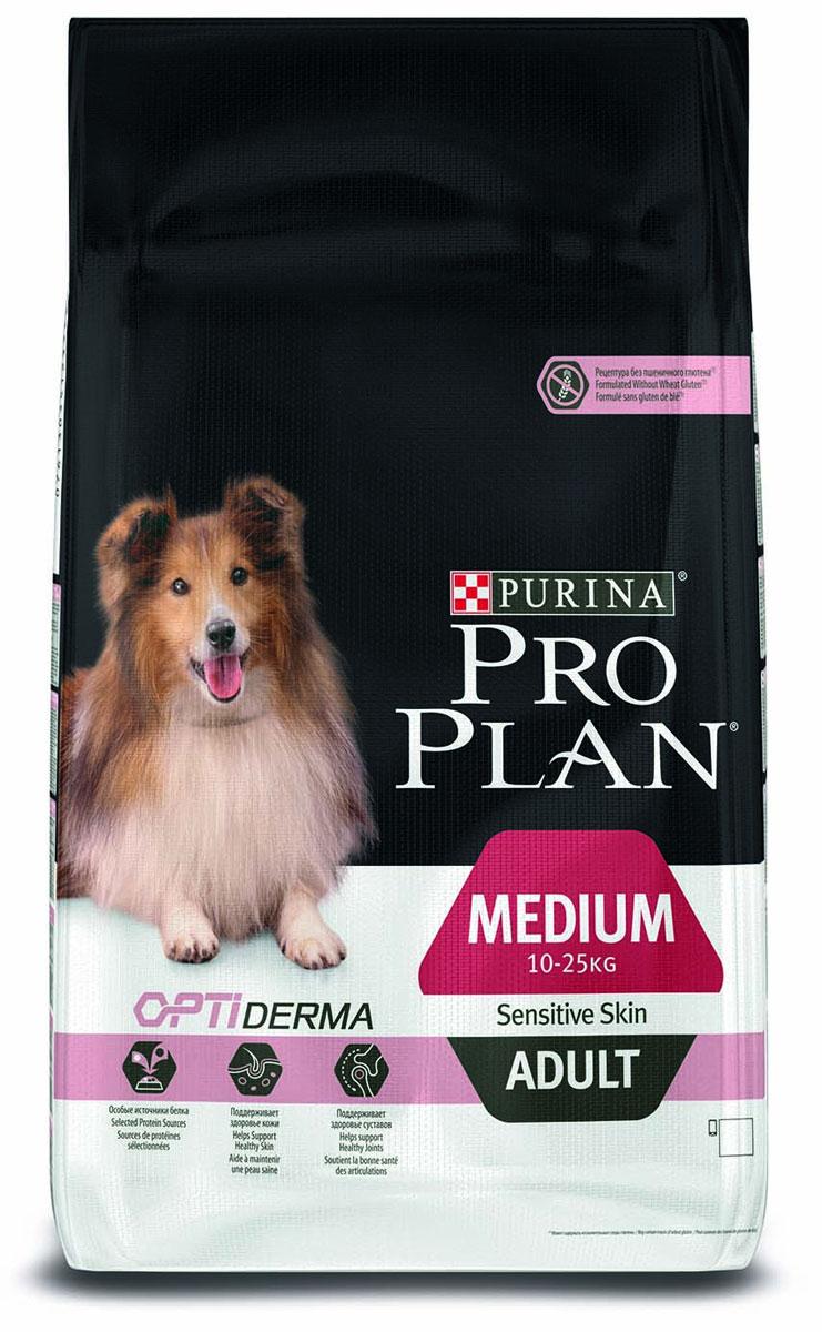 PRO PLAN Adult Sensitive сухой 14 кг для собак с чувствительным пищеварением и кожей Лосось с Рисом12272438