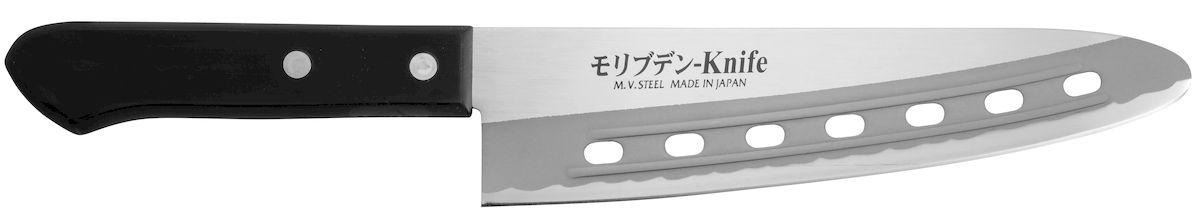 Нож поварской Tojiro Rasp Series, длина лезвия 18,5 смFA-94К ножам Rasp Series от Tojiro продукты не прилипают. Это способствует более быстрому и комфортному приготовлению Ваших любимых блюд.