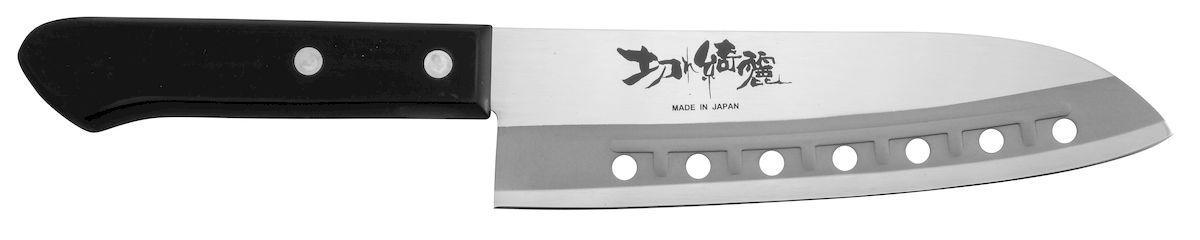 Нож поварской Tojiro Rasp Series, длина лезвия 16,5 смFA-63К ножам Rasp Series от Tojiro продукты не прилипают. Это способствует более быстрому и комфортному приготовлению Ваших любимых блюд.