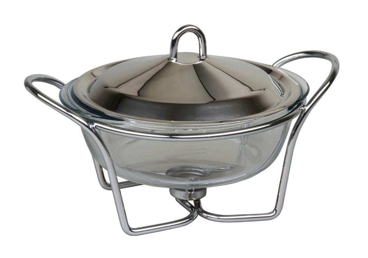 Форма для горячего Rosenberg. 442577.858@23241форма для горячего, размеры 33 х 25 х 20см,объем 2,4 литра. Крышка из нержавеющей стали, подставка из металла с хромированным покрытием, жаропрочное стекло Pyrex.
