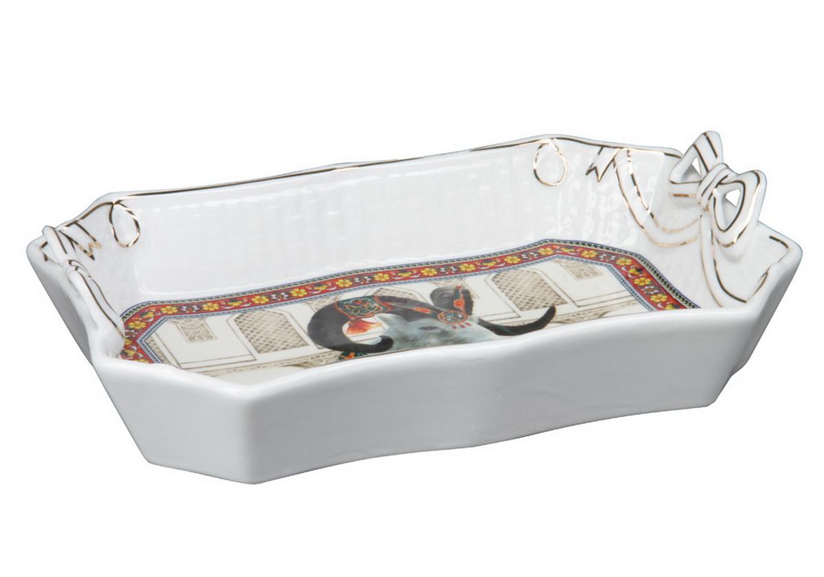 Блюдо Rosenberg. 822677.858@23690блюдо, керамика, размеры 26 х 17.5 х 5 см