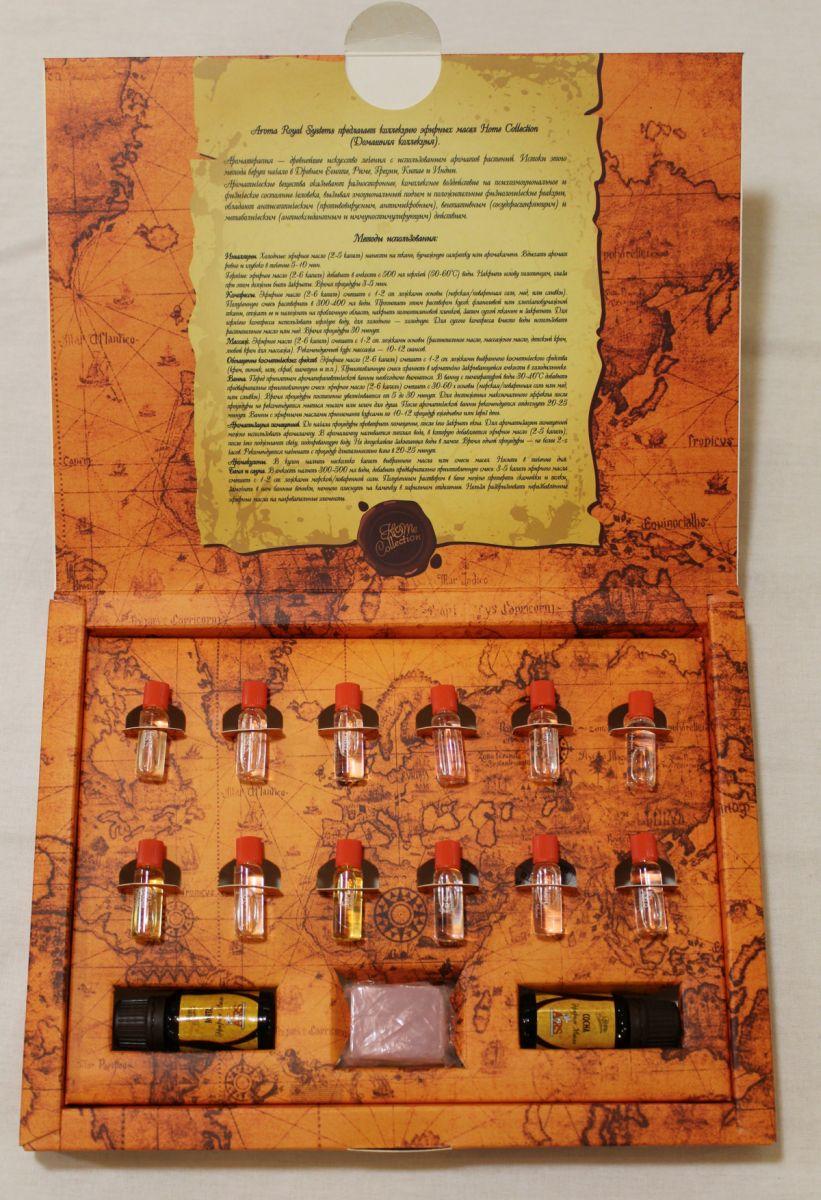 ARS подарочный набор натуральных эфирных масел Ароматы Мира Юг обогреватели