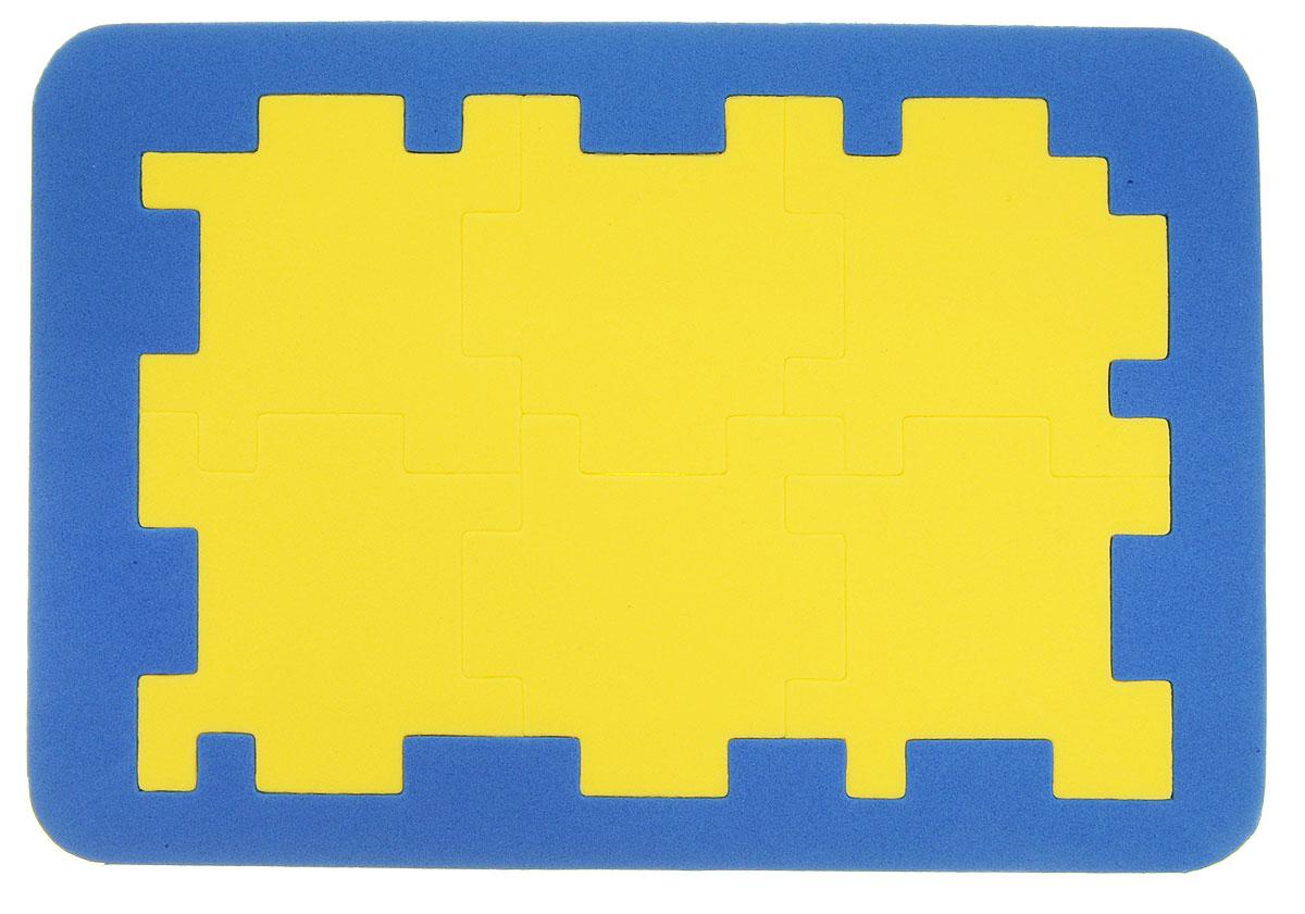 Бомик Пазл для малышей Кубик-головоломка цвет синий желтый701_синий, желтыйПазл для малышей Бомик Кубик-головоломка выполнен из мягкого полимера, поэтому его детали легко гнутся и не ломаются, их всегда можно состыковать. Пазл представляет собой основу, в которой из элементов разной формы, размеров и цветов собирается кубик. Ваш ребенок может собирать его также и в ванной. Элементы можно намочить, благодаря чему они будут хорошо прилипать к стене в ванной комнате. Пазлы способствуют развитию моторики пальцев и рук ребенка, развивают координацию движений, обостряют внимание, улучшают память, помогают научиться воспринимать детали, как часть целого, развивают фантазию и пространственное мышление. Уважаемые клиенты! Обращаем ваше внимание на ассортимент в дизайне товара. Поставка возможна в одном из вариантов нижеприведенных дизайнов, в зависимости от наличия на складе.