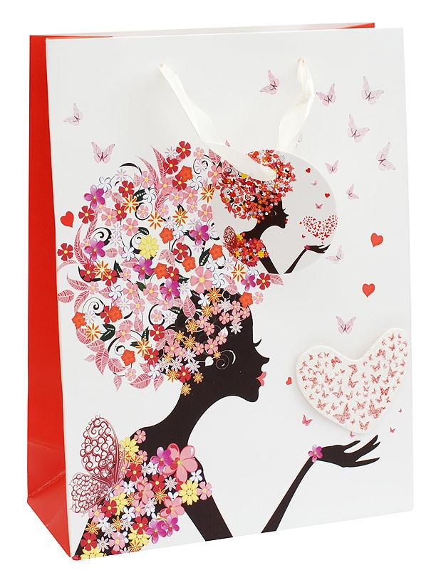 Пакет подарочный Белоснежка Весеннее настроение, 18 х 24 х 8 см1215-SBПодарочный пакет Весеннее настроение выполнен из качественной плотной бумаги с хорошей печатью, объемные элементы на пакете придают дополнительный яркий акцент.
