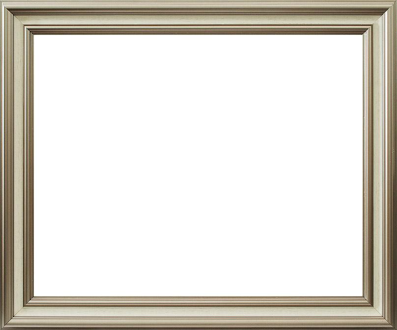 Багетная рама Белоснежка  Tara, 40х50 см, цвет: серебряный2220-BB