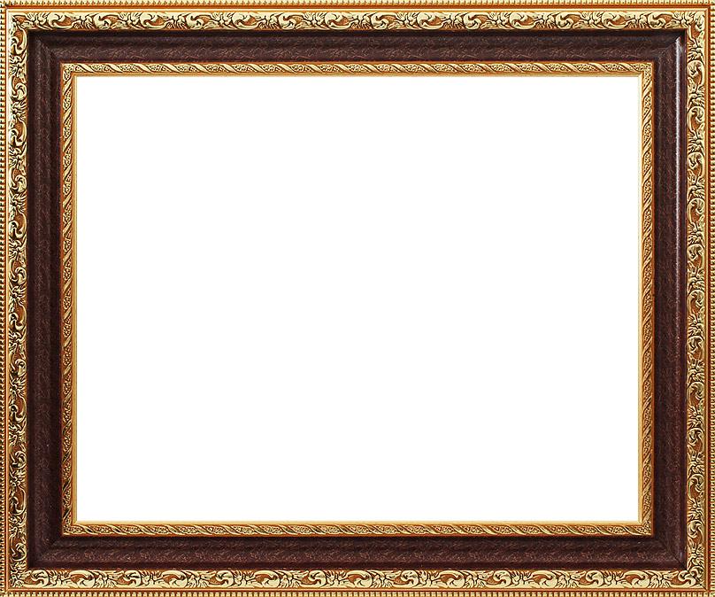 Багетная рама Белоснежка Molly, 40х50 см, цвет: коричневый, золотистый2232-BB