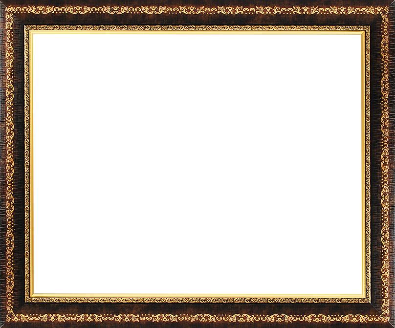 Багетная рама Белоснежка Janet, 40х50 см, цвет: темно-коричневый2402-BB