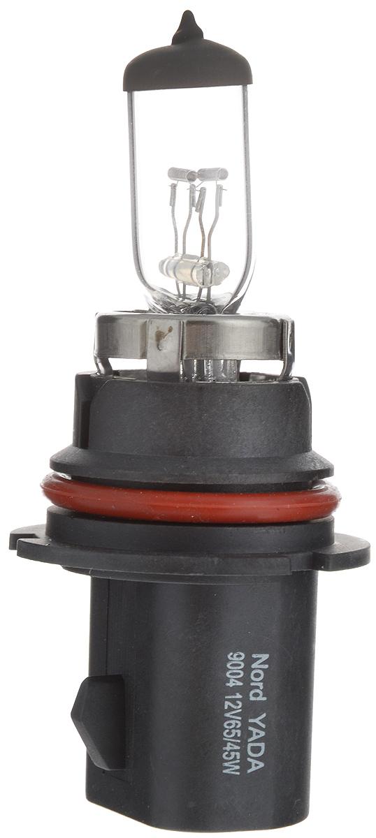 Лампа автомобильная галогенная Nord YADA Clear, цоколь HB1 (9004), 12V, 65/45W800007Лампа автомобильная галогенная Nord YADA Clear - это электрическая галогенная лампа с вольфрамовой нитью для автомобилей и других моторных транспортных средств. Виброустойчива, надежна, имеет долгий срок службы. Галогенные лампы предназначены для использования в фарах ближнего, дальнего и противотуманного света. Серия Clear обеспечивает водителю классический оттенок светового пятна на дороге, к которому привыкло большинство водителей.