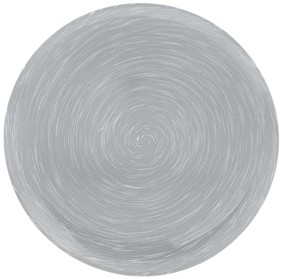 Тарелка десертная Luminarc Stonemania Grey, диаметр 20,5 смH3547Десертная тарелка Luminarc Stonemania Grey, изготовленная из ударопрочного стекла, имеет изысканный внешний вид. Такая тарелка прекрасно подходит как для торжественных случаев, так и для повседневного использования. Идеальна для подачи десертов, пирожных, тортов и многого другого. Она прекрасно оформит стол и станет отличным дополнением к вашей коллекции кухонной посуды.