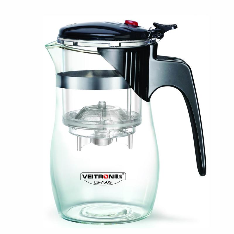 """Чайник заварочный """"Veitron"""", с кнопкой, 750 мл. LS-750S"""