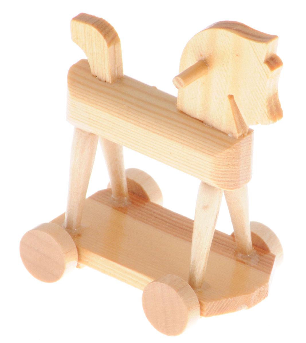 Fritz Canzler Лошадка-качалка на колесах для кукол цвет светло-коричневый13-4875-00Лошадка-качалка на колесах Fritz Canzler - это прекрасный аксессуар для игры с мини-куклами. Ваш ребенок может придумать и разыграть различные сценки, используя кукол и лошадку. Игрушка изготовлена из высококачественного материала, в производстве используется древесина бука и клена. Лошадка-качалка Fritz Canzler обеспечивает развитие и обучение вашего ребенка в процессе игры. Производство осуществляется в Германии.