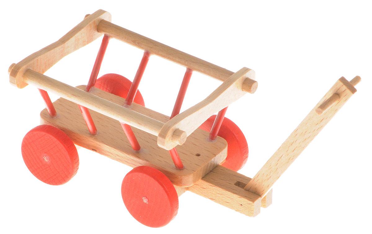 Fritz Canzler Тележка для кукол20300/09Тележка Fritz Canzler - это прекрасный аксессуар для игры с мини-куклами. Ваш ребенок может придумать и разыграть различные ситуации, например, поездку за город или веселые игры на деревенском дворе. Игрушка изготовлена из высококачественного материала, в производстве используется древесина бука и клена. Тележка для кукол Fritz Canzler обеспечивает развитие и обучение вашего ребенка в процессе игры. Производство осуществляется в Германии.