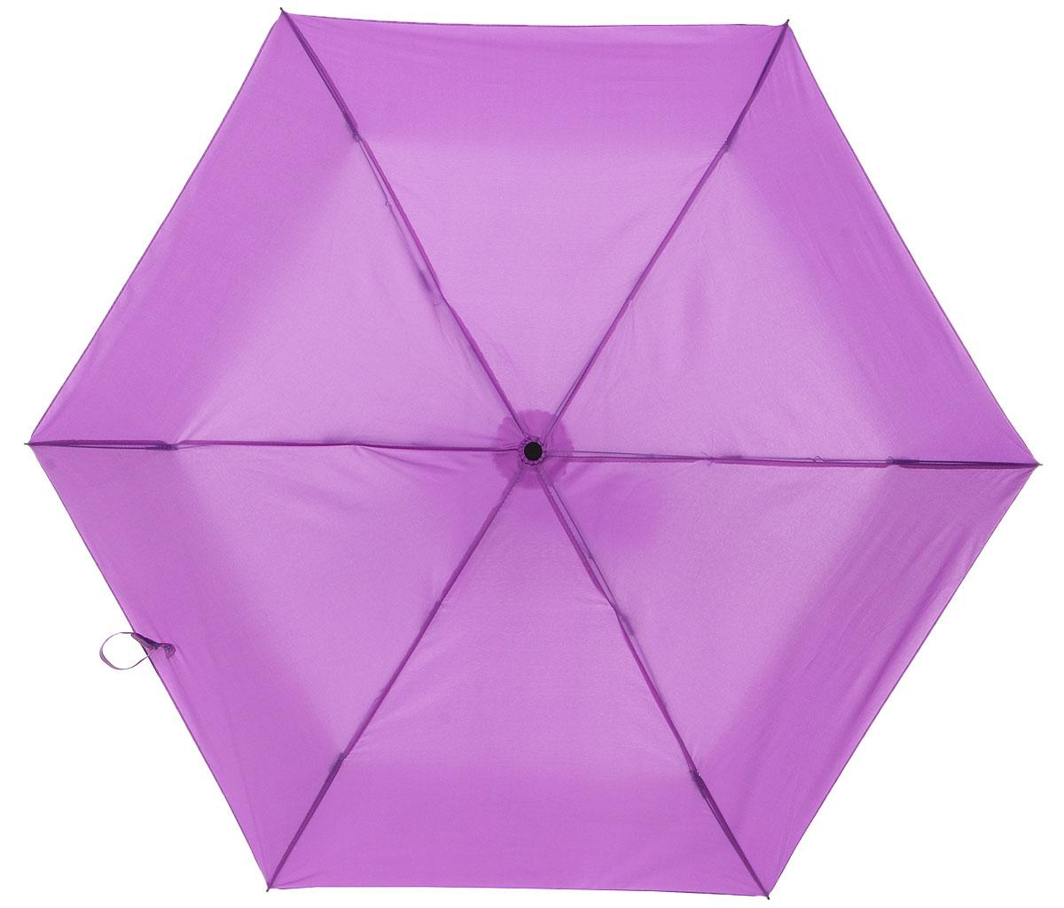 Зонт детский Эврика Баклажан, механика, 2 сложения, цвет: фиолетовый. 9677596775Оригинальный и яркий детский зонт Эврика станет замечательным подарком для вашего ребенка. Изделие имеет механический способ сложения: и купол, и стержень открываются вручную до характерного щелчка. Зонт состоит из шести спиц и стержня, изготовленных из металла. Яркий купол выполнен из качественного нейлона, который не пропускает воду. Зонт дополнен чехлом из пластика, имитирующим баклажан. Ручка выполнена в виде черенка баклажана и дополнена петлей, благодаря которой зонт можно носить на запястье. Компактный пластиковый чехол предохраняет зонт от повреждений. Оригинальный дизайн зонта поднимет настроение не только вам, но и окружающим.