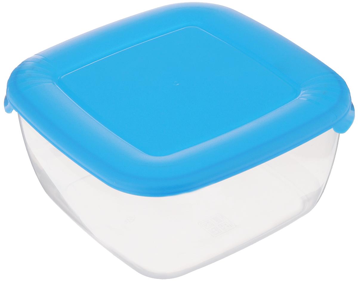 Контейнер для пищевых продуктов Полимербыт Лайт, цвет: голубой, прозрачный, 2,5 лС544_прозрачный, голубой матовыйКонтейнер Полимербыт Лайт квадратной формы, изготовленный из прочного полипропилена, предназначен специально для хранения пищевых продуктов. Крышка легко открывается и плотно закрывается. Контейнер устойчив к воздействию масел и жиров, легко моется. Прозрачные стенки позволяют видеть содержимое. Контейнер имеет возможность хранения продуктов глубокой заморозки, обладает высокой прочностью. Можно мыть в посудомоечной машине. Подходит для использования в микроволновых печах.