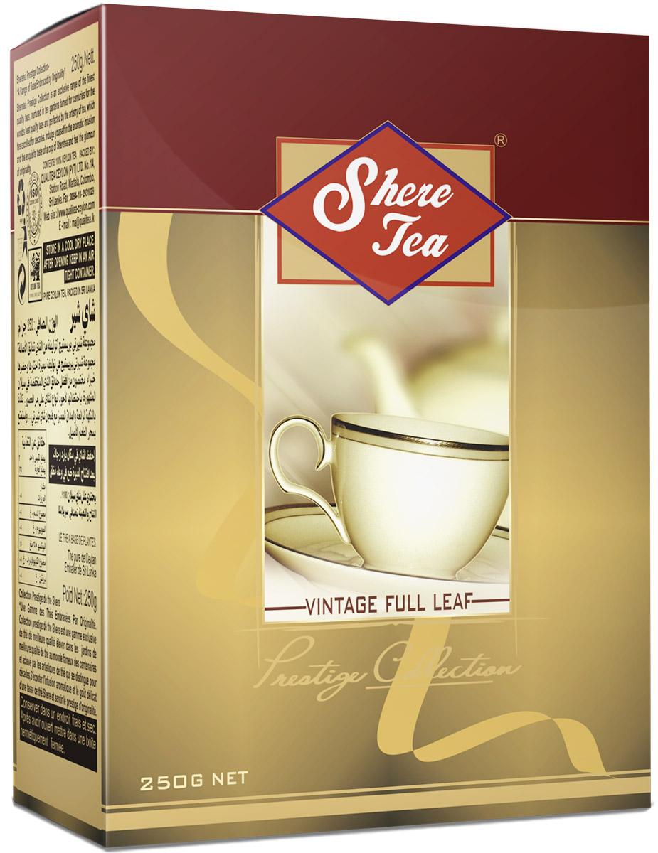 Shere Tea Престижная коллекция. OP1 чай черный листовой, 250 г4791014001195Shere Tea Prestige Collection - это эксклюзивные сорта лучшего 100% цейлонского чая, выращенного в гористой местности на золотых плантациях, знаменитых более столетия. Вы получите наслаждение от аромата и особенного вкуса в каждой чашке чая Шери и прикоснетесь к очарованию его новизны. Листья для этого чая собирают с кустов после того, как почки полностью раскрываются. Для этого сорта собирают первый и второй лист с ветки. В сухой заварке листья должны быть крупными (от 8 до 15 мм), однородными, хорошо скрученными. Этот сорт практически не содержит типсов. Чай имеет достаточно высокое содержание ароматических масел, и поэтому его настой очень ароматен. Также этот чай характерен вкусом с горчинкой благодаря большому содержанию дубильных веществ. Кофеина в этом чае намного меньше, так как в нем используют более взрослые листы, в которых содержание кофеина меньше, чем в типсах и молодых листах. В конце аббревиатуры стандарта можно увидеть цифру 1....