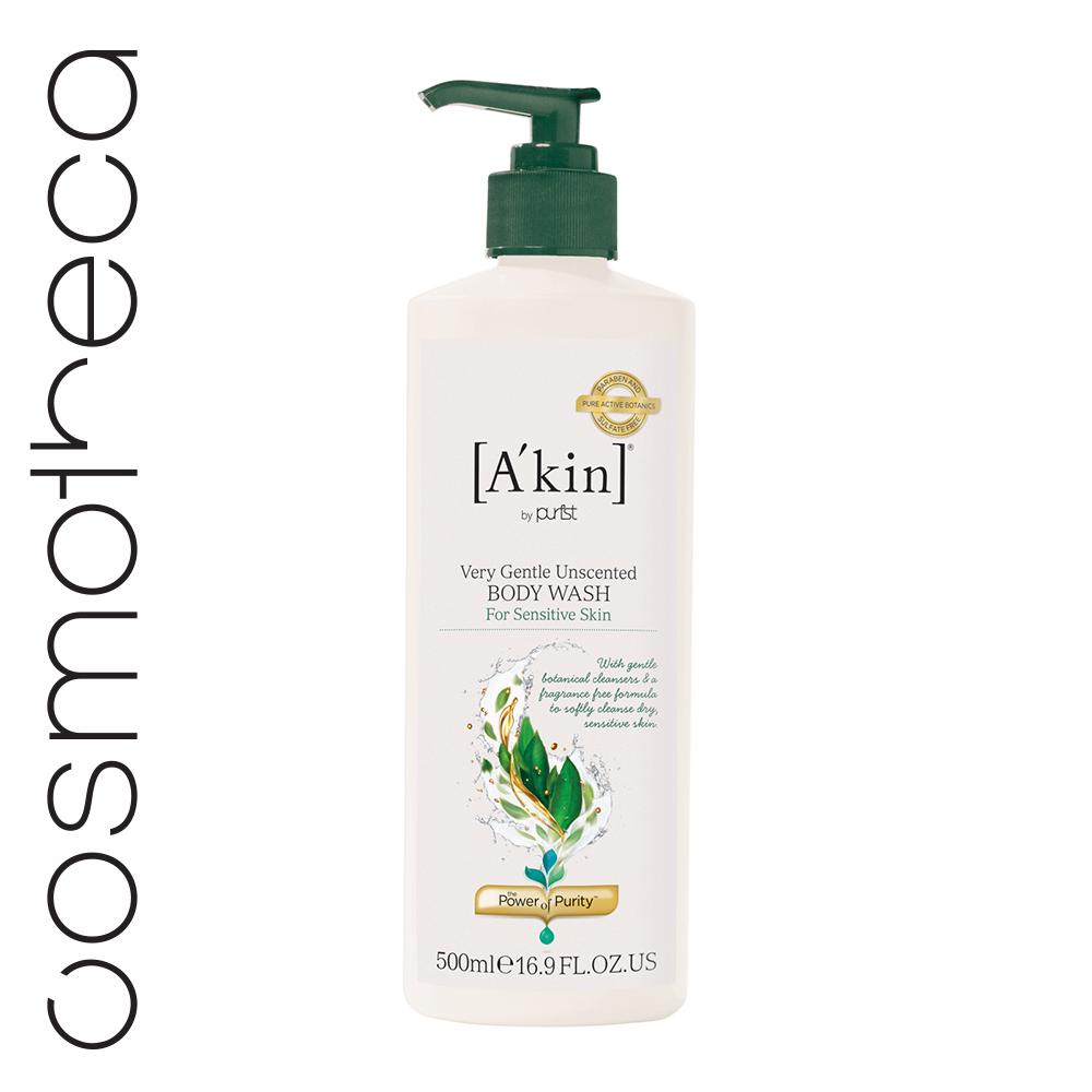 Akin Гель для душа Нежный без отдушек 500 мл1410029Абсолютно чистый, без синтетических вредных примесей, гель балансирует pH, увлажняет благодаря растительным компонентам, а также успокаивает чувствительную кожу.
