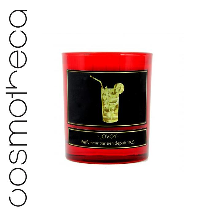 Jovoy Paris Свеча ароматизированная Absolu De Mojito 185 г70512Очевидная отсылка к Хемингуэю, прославившему коктейль мохито. Теперь вся свежесть мяты и рома заключена в свече, которую осталось лишь зажечь.