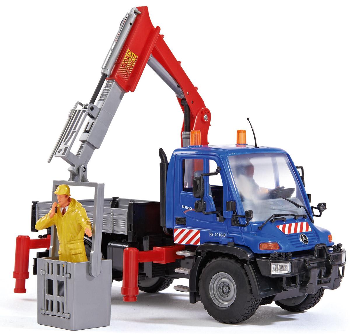 Dickie Toys Автомобиль с гидравлическим подъемником3414492_синийАвтомобиль с гидравлическим подъемником Dickie Toys призван оказывать помощь городу. Игрушка напоминает уменьшенную копию реального автомобиля. Игрушечный помощник отлично впишется в коллекцию спецтехники детского автомобильного парка. У автомобиля открываются двери таким образом, что в кабину помещается водитель. В представленный набор включены фигурки людей, которые облачены в специальную рабочую одежду и каски. У машины вращаются колеса, а также поднимается и опускается ковш. Благодаря играм с таким автомобилем у маленьких детей развивается воображение, фантазия и моторика.