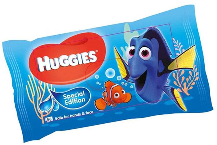 Huggies Влажные салфетки для детей Disney Dory 56 шт2430730Специальная летняя коллекция влажных салфеток Huggies с героем нового анимационного фильма от Disney/Pixar. Всеми любимая голубая рыбка Дори (Dory), известная зрителям по анимационному фильму В поисках Немо, возвращается на экран. Благодаря уникальной многослойной текстуре влажные салфетки Huggies, в новой упаковке с полюбившимся героем, прекрасно впитывают загрязнения. В большинстве случаев достаточно одной влажной салфетки, чтобы кожа малыша снова стала чистой. Особенности: - Безопасны для кожи рук и лица - Без спирта и парабенов - Уникальный материал салфетки - Содержат Алоэ и Витамин Е.