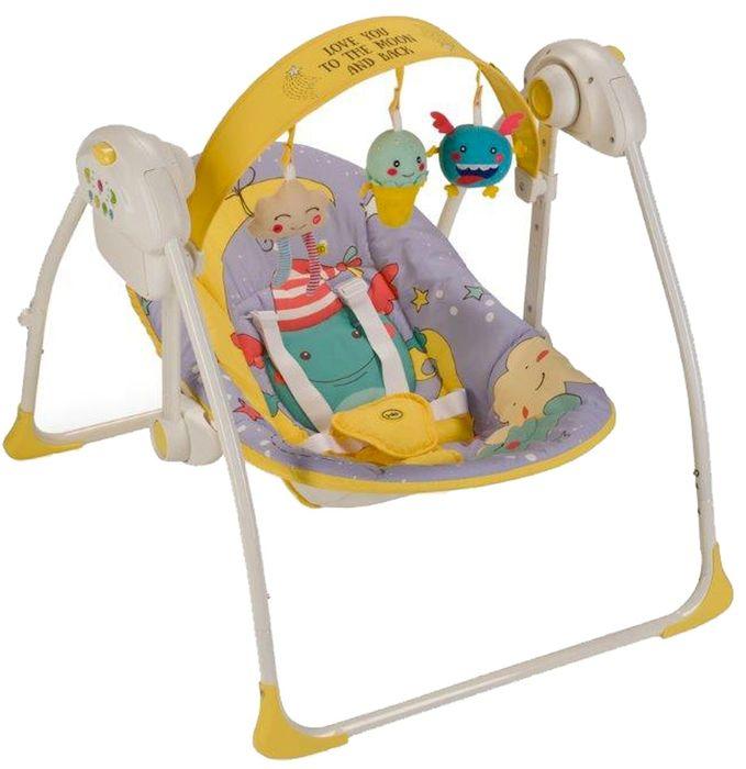 Happy Baby Электрокачели Jolly Violet 4650069782599