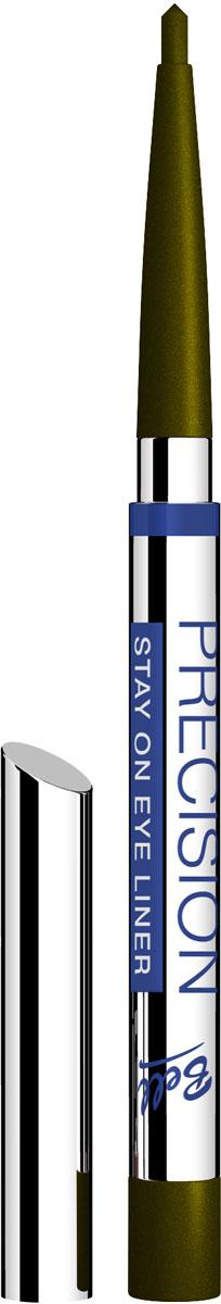 Bell Карандаш для глаз Устойчивый Precision Eye Liner Тон 1, 4 грB4koP001Автоматически, точно, идеально! Precision это изысканная коллекция автоматических контурных карандашей для макияжа глаз и губ. Нанесение точного контура теперь стало необычайно простым! Инновационные полимеры, входящие в состав, обеспечивают особую эластичность грифеля, что гарантирует точность и устойчивость нанесенных линий. Входящий в состав ланолин и специальный растительный воск ухаживает за нежной кожей век, а силиконовые микрошарики гарантируют мягкое и комфортное нанесение. Результат – идеальный устойчивый макияж, ошеломляющий своей красотой и чувственностью! Тон 1