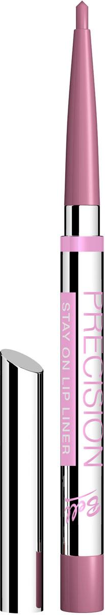 Bell Карандаш для губ Устойчивый Precision Lip Liner 4 грB5kuP009Автоматически, точно, идеально! Precision это изысканная коллекция автоматических контурных карандашей для макияжа глаз и губ. Нанесение точного контура теперь стало необычайно простым! Инновационные полимеры, входящие в состав, обеспечивают особую эластичность грифеля, что гарантирует точность и устойчивость нанесенных линий. Входящий в состав ланолин и специальный растительный воск ухаживает за нежной кожей губ, а силиконовые микрошарики гарантируют мягкое и комфортное нанесение. Результат – идеальный устойчивый макияж, ошеломляющий своей красотой и чувственностью! Тон 9