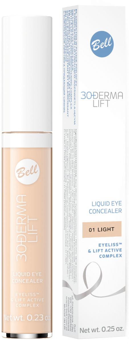 Bell Корректор жидкий с комплексом лифтинга придающий сияние Derma Lift Concealer Тон 1, 6,5 грBAkopDL001Показания к применению: Синяки и отеки под глазами, отсутствие упругости кожи Действие: Формула, содержащая активные компоненты: Eyeliss™ и Lift Active Complex разглаживает кожу, оптически уменьшает мелкие морщины. Маскирует темные круги вокруг глаз и другие дефекты кожи. Придает сияние и выравнивает тон кожи. Эффект: со дня на день признаки усталости, темные круги под глазами становятся все более незаметными. Цвет лица становится естественным, кожа становится гладкой. Тон 1