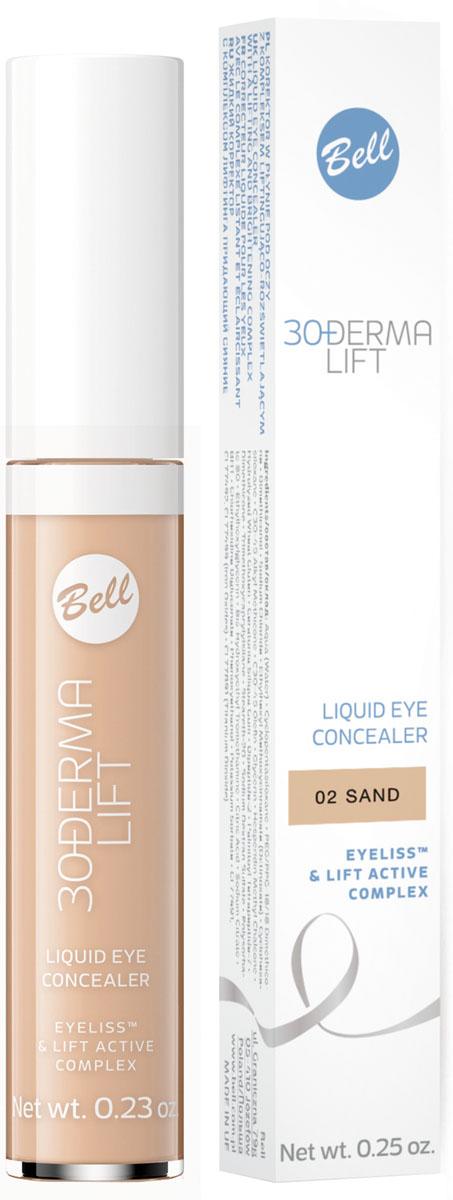 Bell Корректор жидкий с комплексом лифтинга придающий сияние Derma Lift Concealer Тон 2, 6,5 грBAkopDL002Показания к применению: Синяки и отеки под глазами, отсутствие упругости кожи Действие: Формула, содержащая активные компоненты: Eyeliss™ и Lift Active Complex разглаживает кожу, оптически уменьшает мелкие морщины. Маскирует темные круги вокруг глаз и другие дефекты кожи. Придает сияние и выравнивает тон кожи. Эффект: со дня на день признаки усталости, темные круги под глазами становятся все более незаметными. Цвет лица становится естественным, кожа становится гладкой. Тон 2