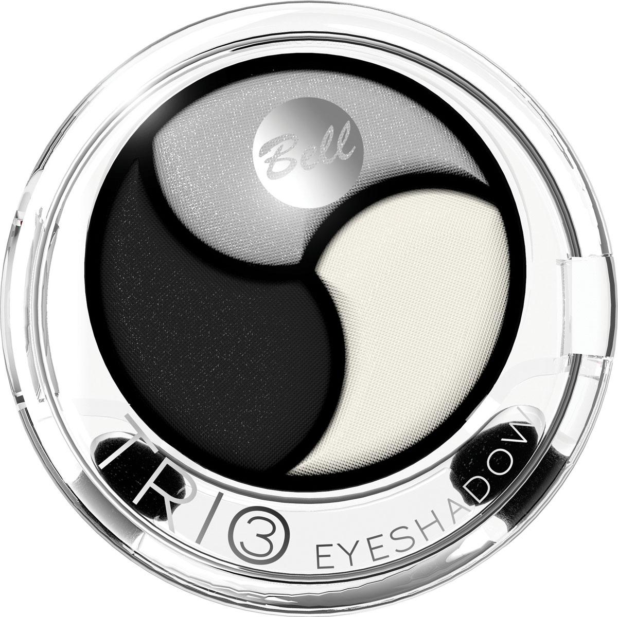 Bell Тени для век 3х Цветные Trio Eyeshadow Тон 1, 4 грBcT001Инновационная технология обеспечивает насыщенность цвета, удобство аппликации, а также необыкновенную стойкость. Тени содержат пигменты, которые находятся в капсуле с маслом жожоба, обладающим увлажняющими свойствами, гарантируя кремовый эффект. Тени представлены в шести цветовых наборах, которые позволят создать идеальный макияж глаз. Тон 1