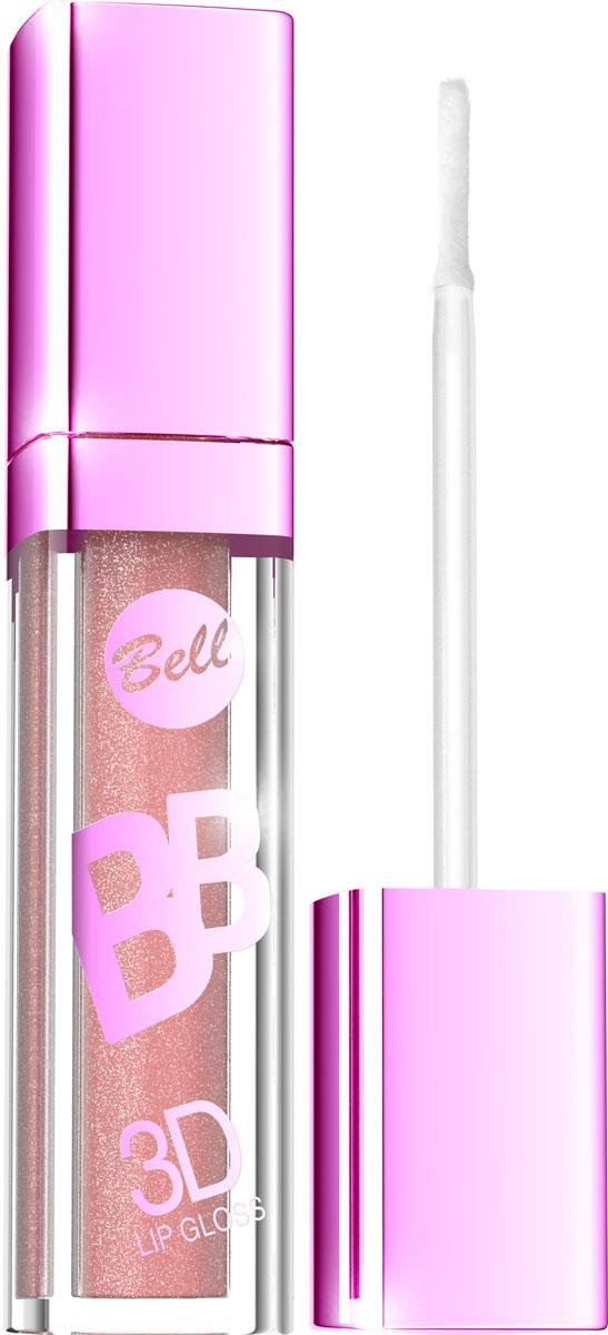 """Bell Блеск Визуально Увеличивающий Объем Губ Bb 3d Lip Gloss Тон 2, 6 млBlgBB002Xрустальный блеск и эффект разглаживания! Секрет действия блеска для губ заключается в формуле, содержащей """"Crystal Shine Complex"""" – маленькие частички, отражающие свет и обеспечивающие эффект 3D. Специально подобранные полимеры значительно улучшают увлажнение губ. Состав кондиционирующих компонентов увеличивает гибкость эпидермиса и гарантирует ощущение увлажненных губ. Легкая, кремовая формула не образует комочков и не склеивает губы. Цветовая палитра включает 6 модных оттенков. Тон 2"""