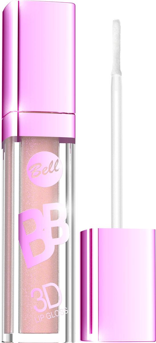 """Bell Блеск Визуально Увеличивающий Объем Губ Bb 3d Lip Gloss 6 млBlgBB003Xрустальный блеск и эффект разглаживания! Секрет действия блеска для губ заключается в формуле, содержащей """"Crystal Shine Complex"""" – маленькие частички, отражающие свет и обеспечивающие эффект 3D. Специально подобранные полимеры значительно улучшают увлажнение губ. Состав кондиционирующих компонентов увеличивает гибкость эпидермиса и гарантирует ощущение увлажненных губ. Легкая, кремовая формула не образует комочков и не склеивает губы. Цветовая палитра включает 6 модных оттенков. Тон 3"""